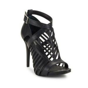 Calvin Klein Naida Cow Silk Heel Sandals